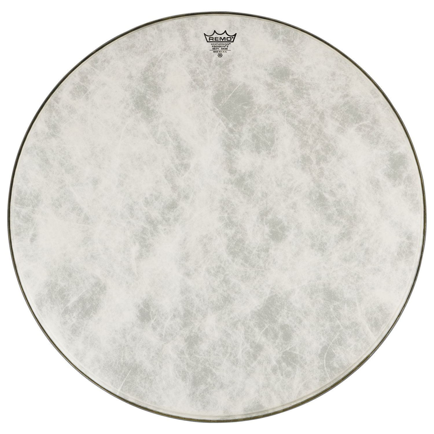 remo 20 powerstroke p3 fiberskyn bass drum head p3 1520 fa. Black Bedroom Furniture Sets. Home Design Ideas