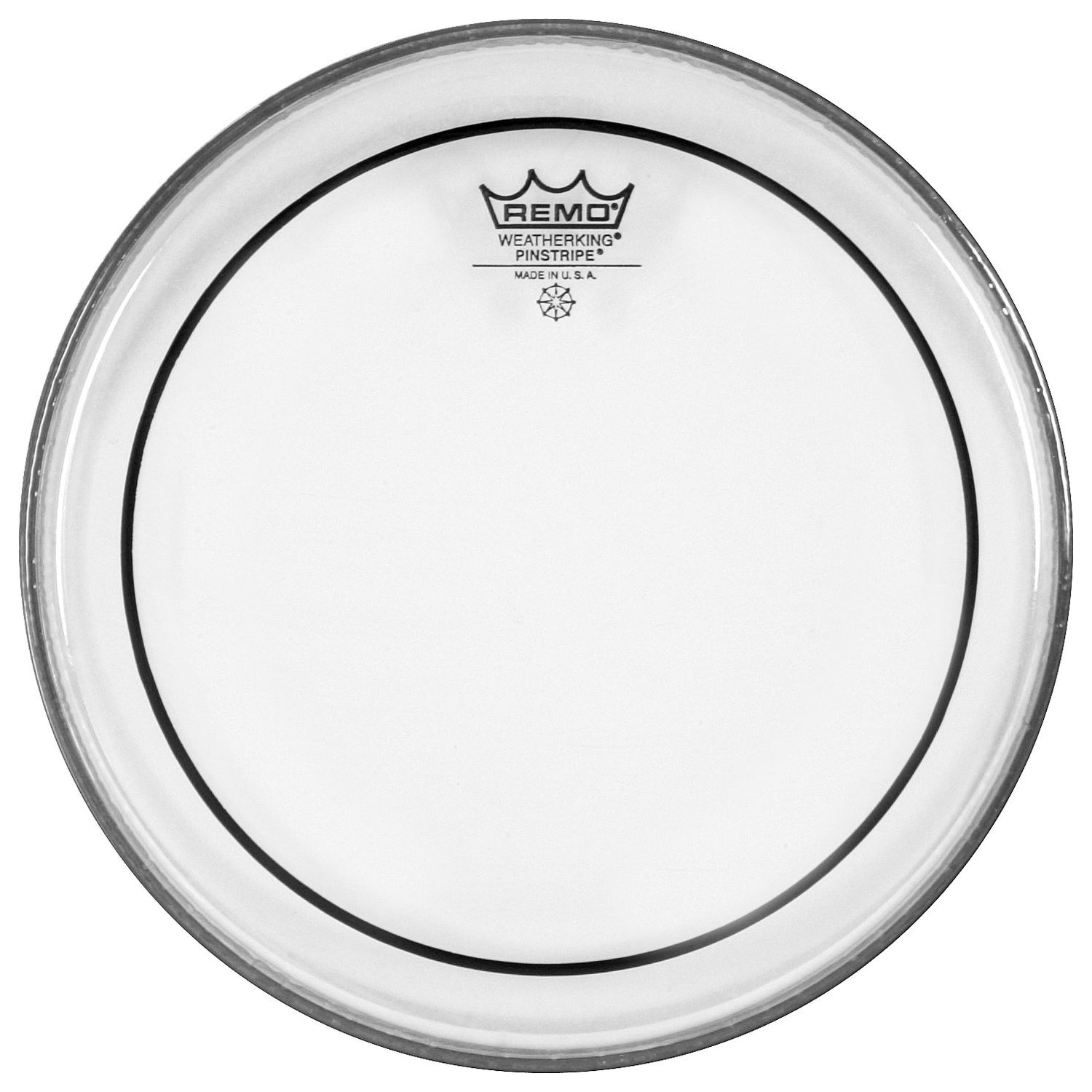 "Remo 12""/13""/16"" Pinstripe Clear Tom Drum Head Pack"