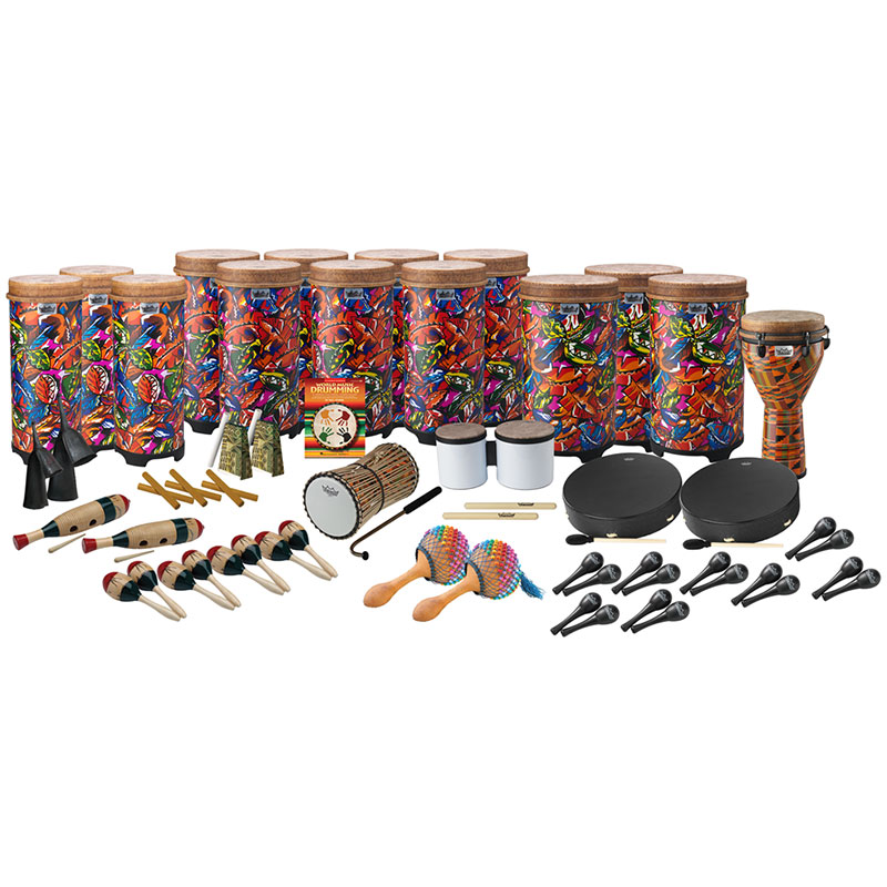 Remo World Drumming Package E