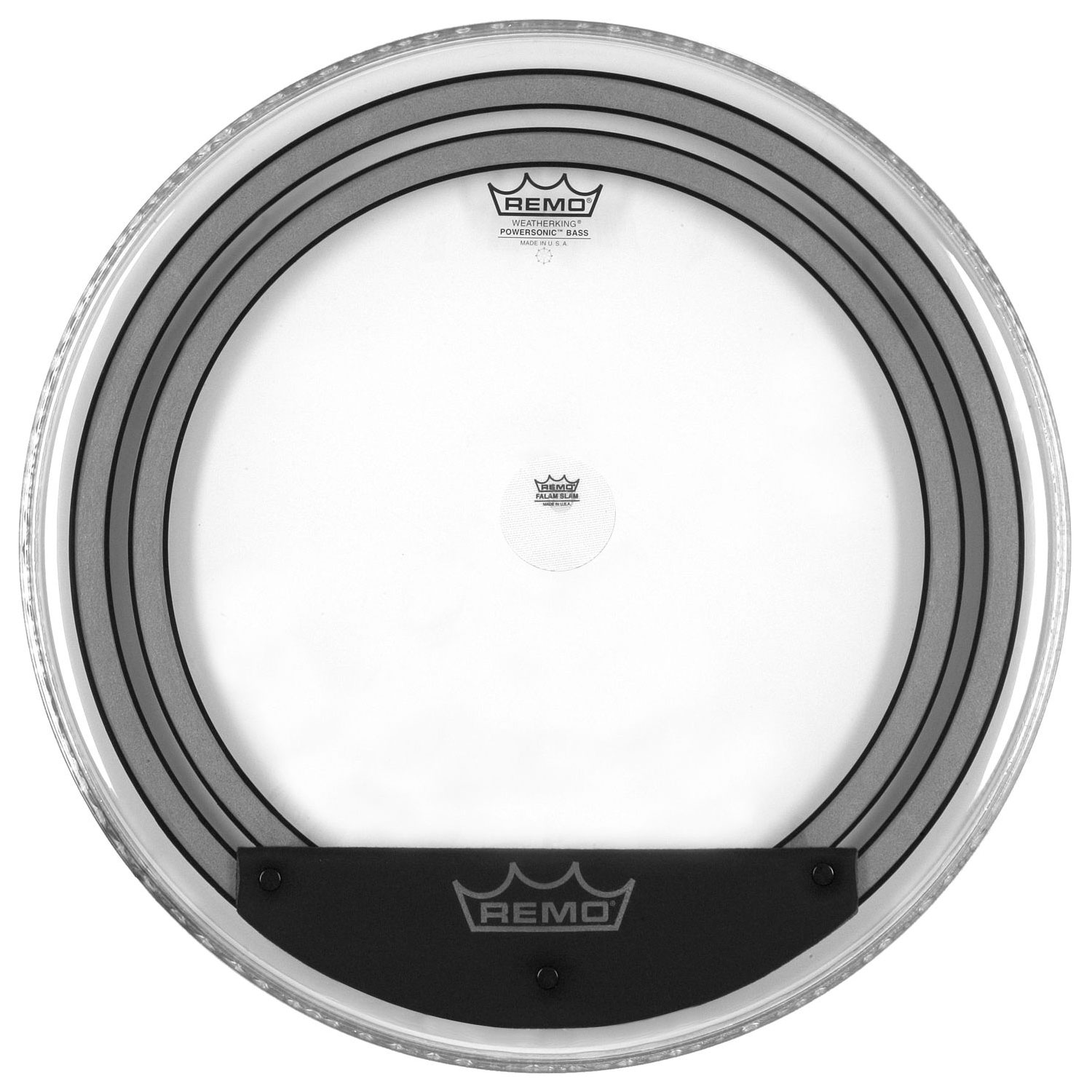 """Remo 24"""" Powersonic Clear Bass Drum Head"""