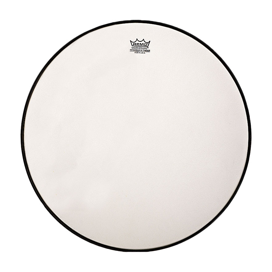 "Remo 22"" RC-Series (Renaissance) Hazy Timpani Head with Aluminum Insert Ring"