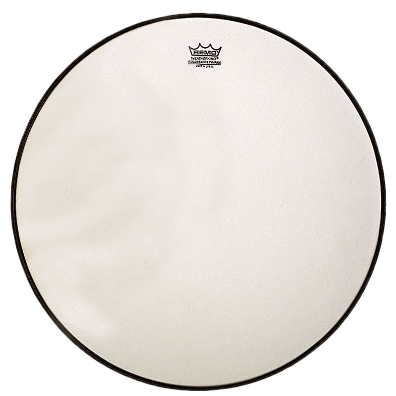 "Remo 24.25"" RC-Series (Renaissance) Hazy Timpani Head with Low-Profile Steel Insert Ring"