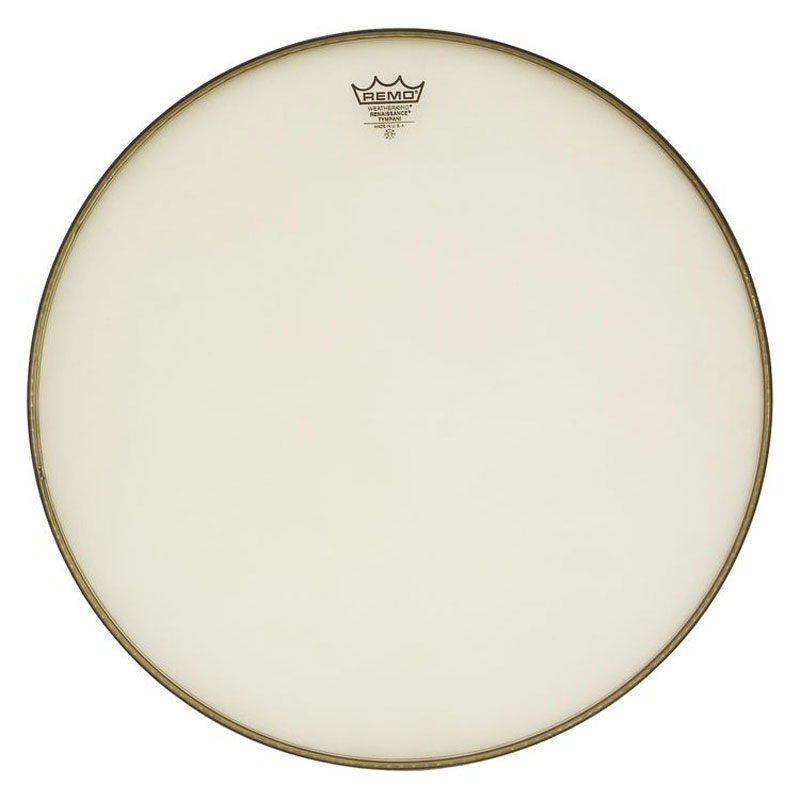 "Remo 26"" RC-Series (Renaissance) Hazy Timpani Head with Low-Profile Steel Insert"