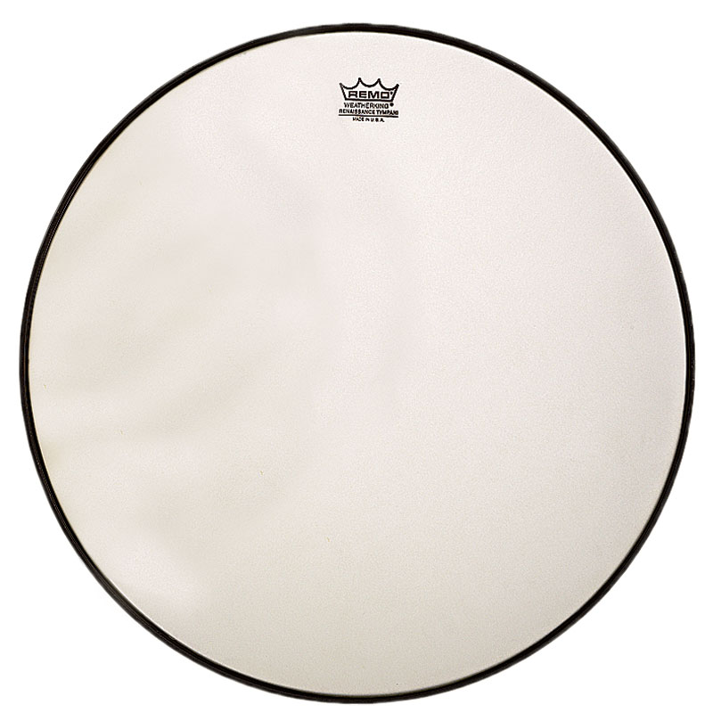 "Remo 33"" RC-Series (Renaissance) Hazy Timpani Head with Low-Profile Steel Insert Ring"