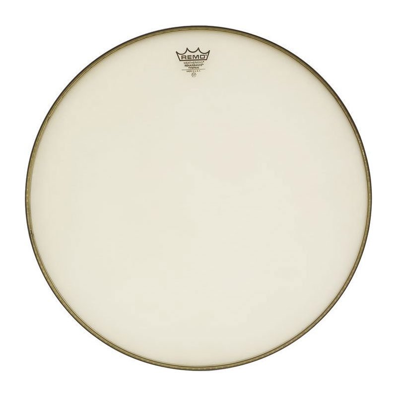 "Remo 34"" RC-Series (Renaissance) Clear Timpani Head with Low-Profile Steel Insert Ring"
