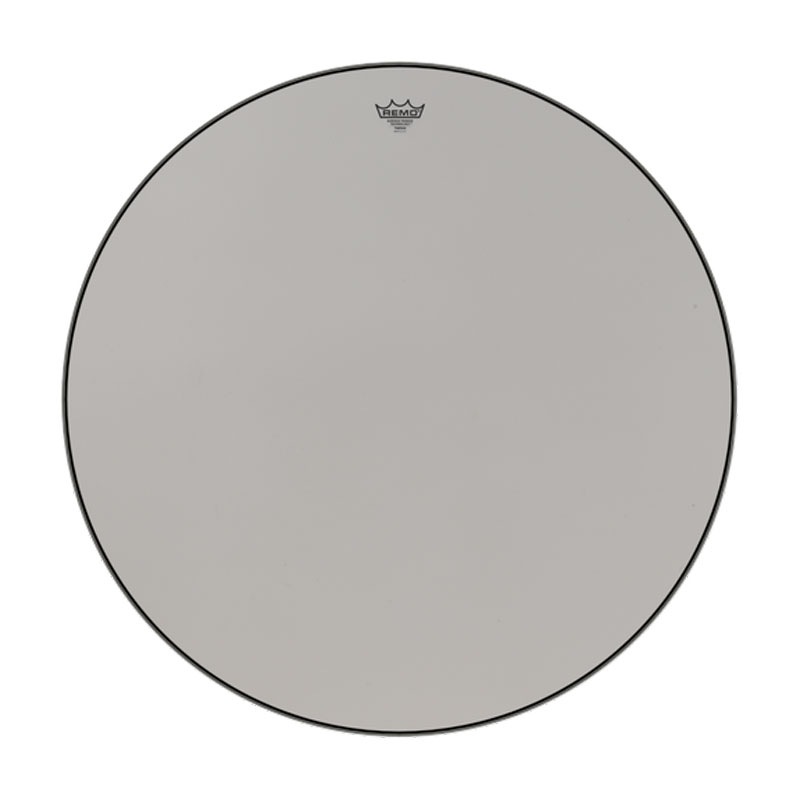 "Remo 22"" ST-Series (Surface Tension) Suede Hazy Timpani Head with Low-Profile Steel Insert Ring"