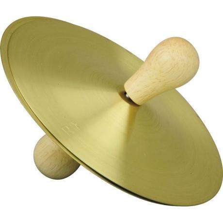 Rhythm Band Five Inch Brass Cymbal Pair