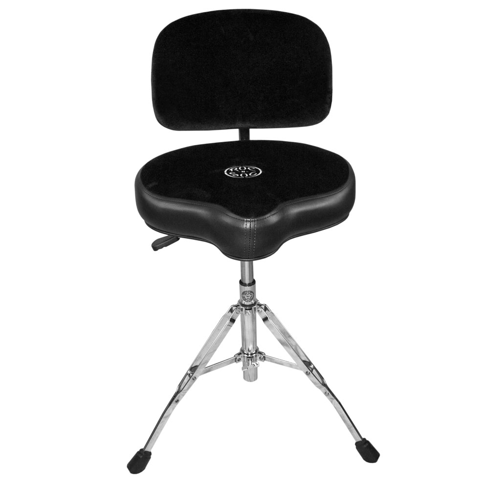main image for roc n soc nitro extended drum throne with original seat back rest. Black Bedroom Furniture Sets. Home Design Ideas