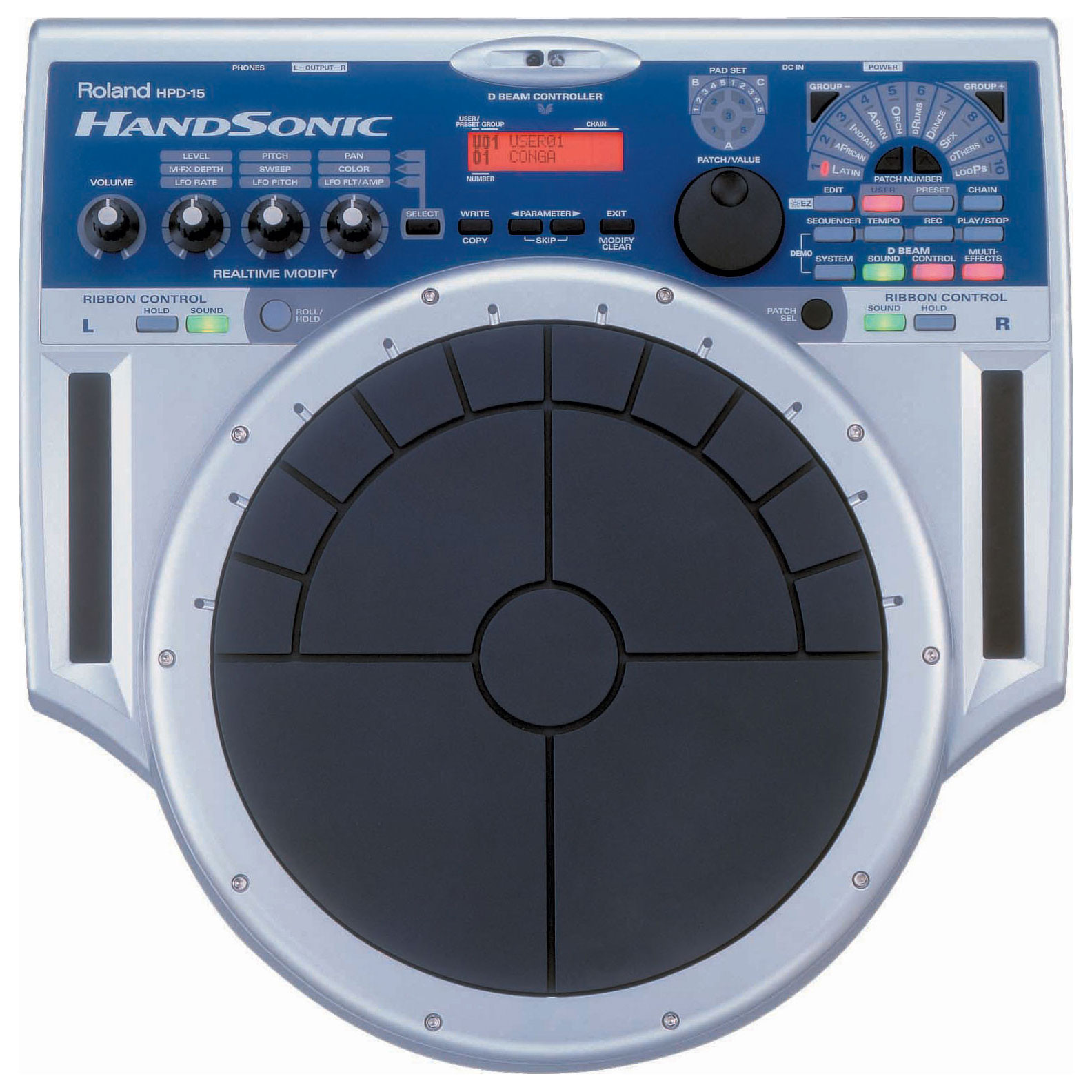 Roland HandSonic 15 Percussion Controller