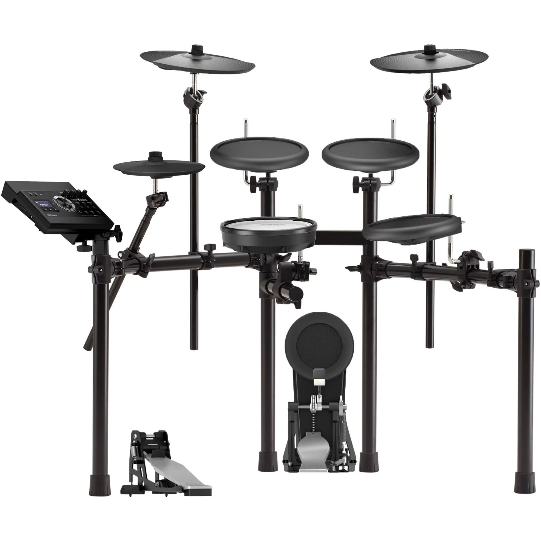 Roland V-Drums Electronic Drum Set (TD-17 Module, PDX-8, PD-8A (3), CY-5, FD-9, CY-8 (2), KD-10, MDS-4V)