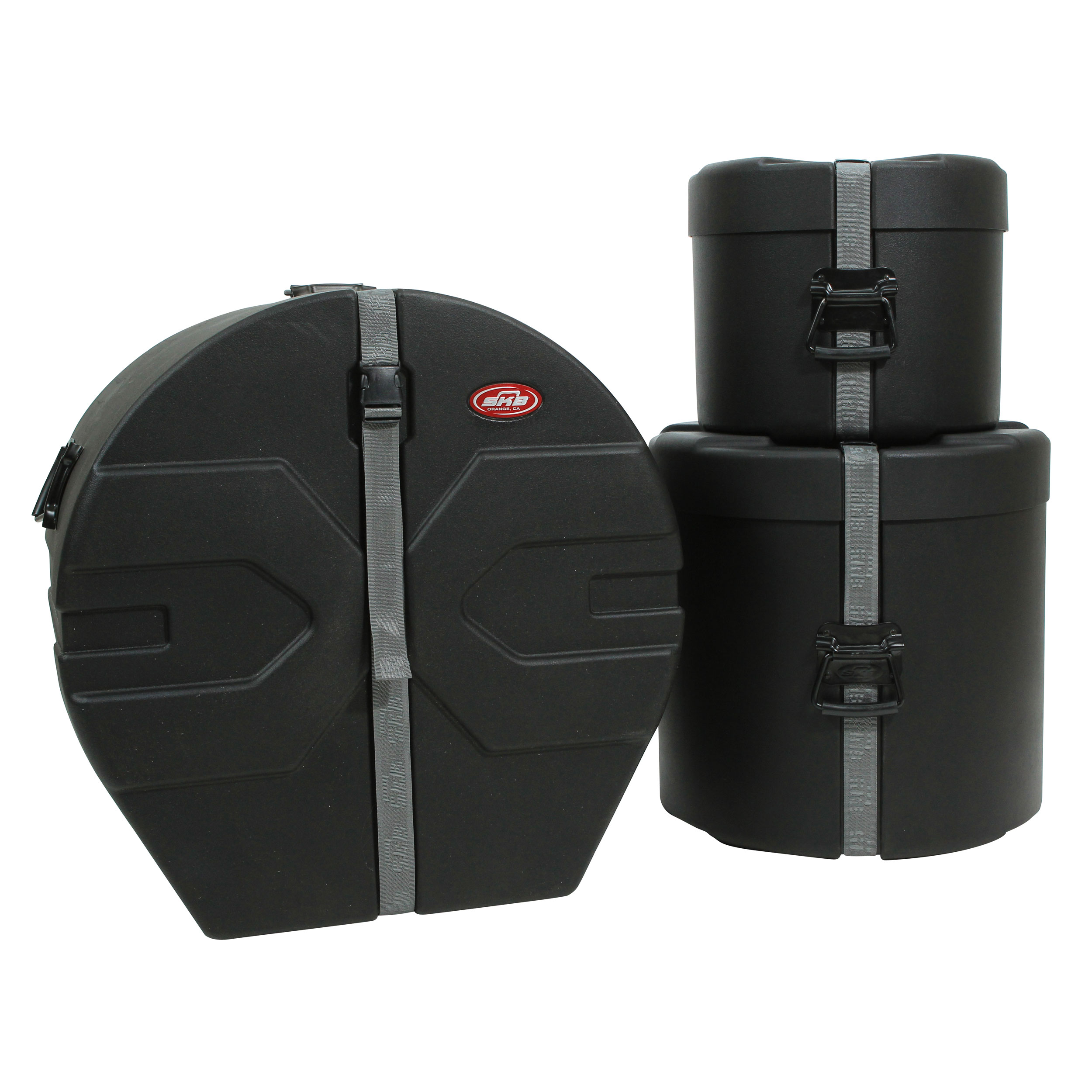 "SKB 10-16-18"" Padded Drum Set Case Bundle"