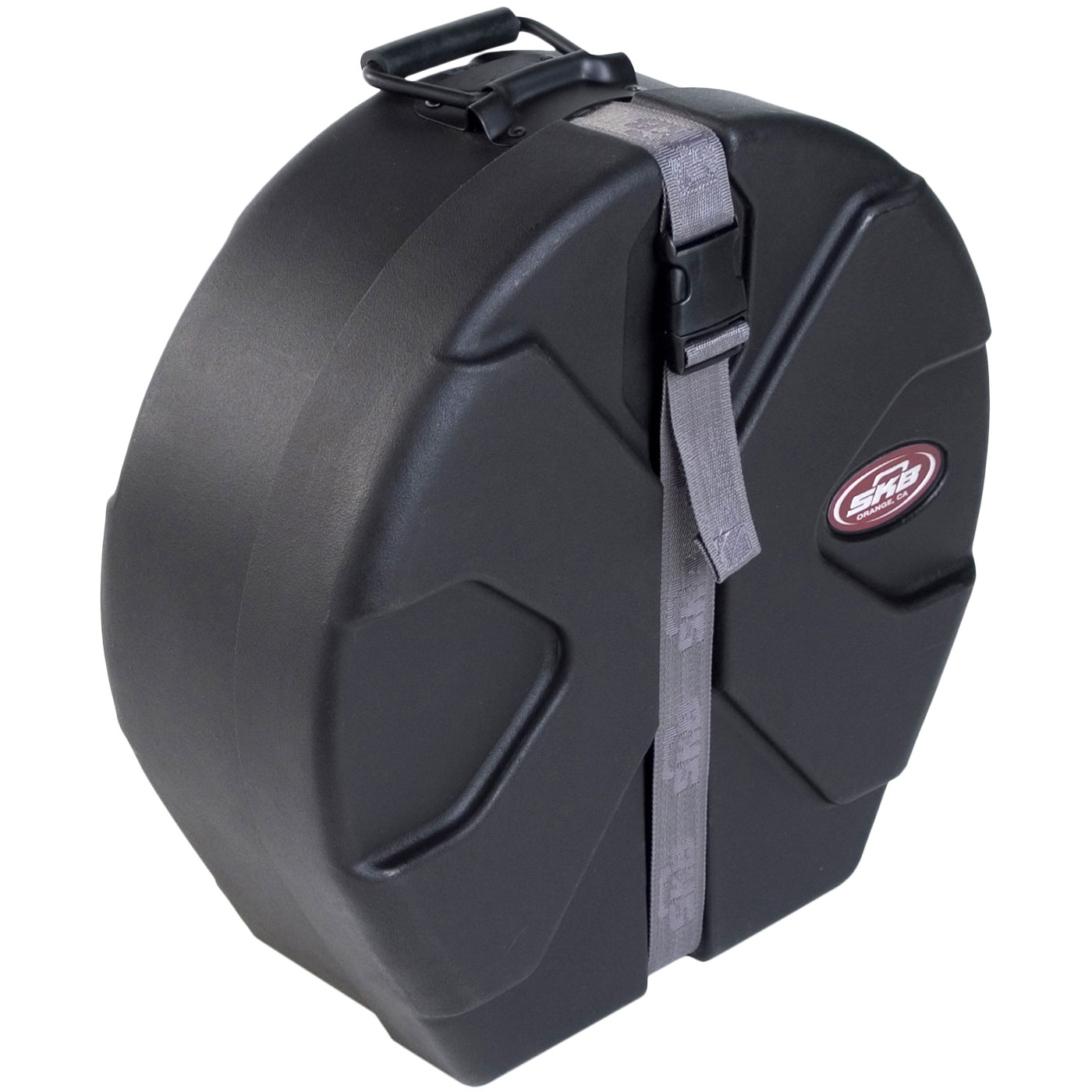 "SKB 4"" (Deep) x 14"" (Diameter) Snare Case with Padded Interior"