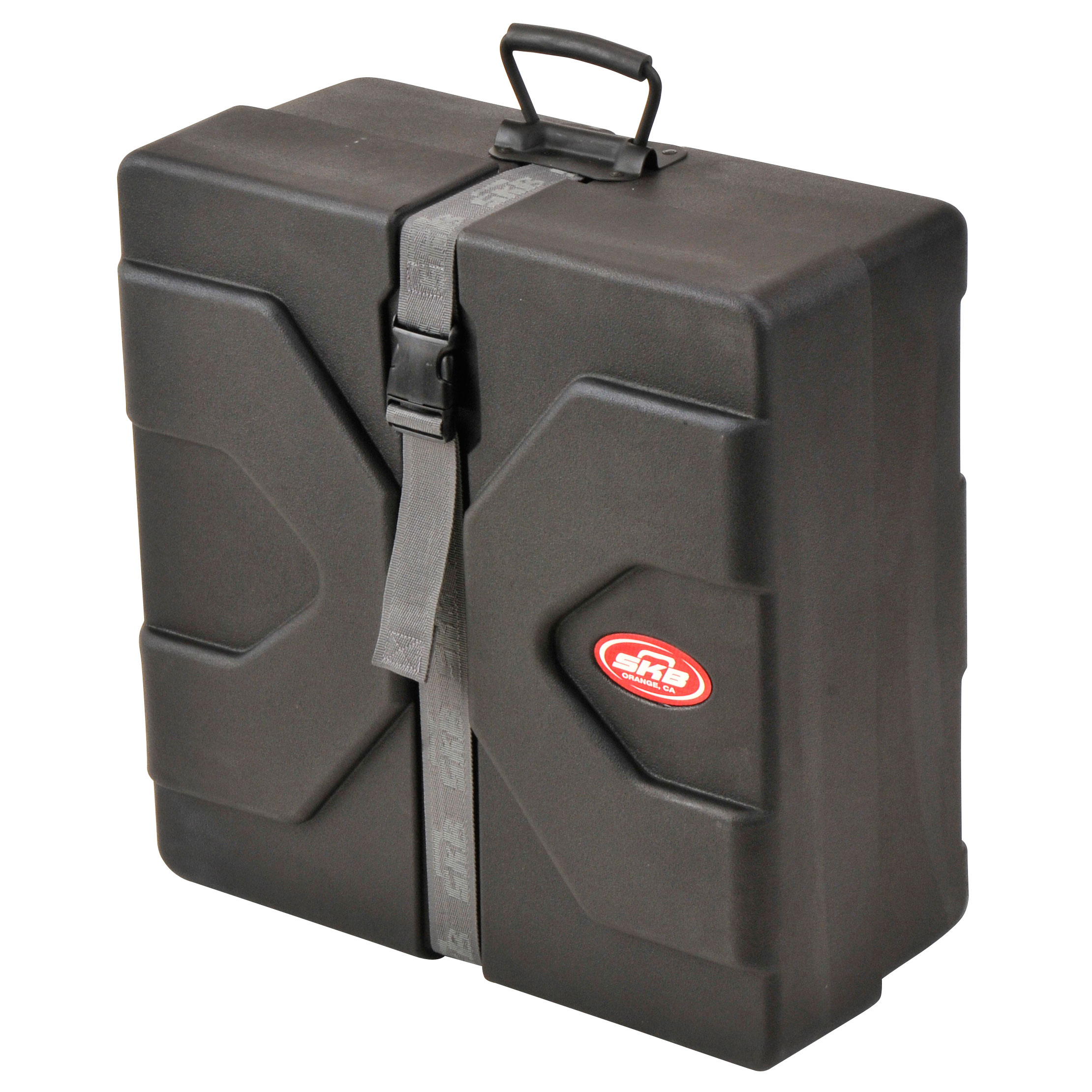 "SKB 5"" (Deep) x 15"" (Diameter) Square Snare Case with Padded Interior"