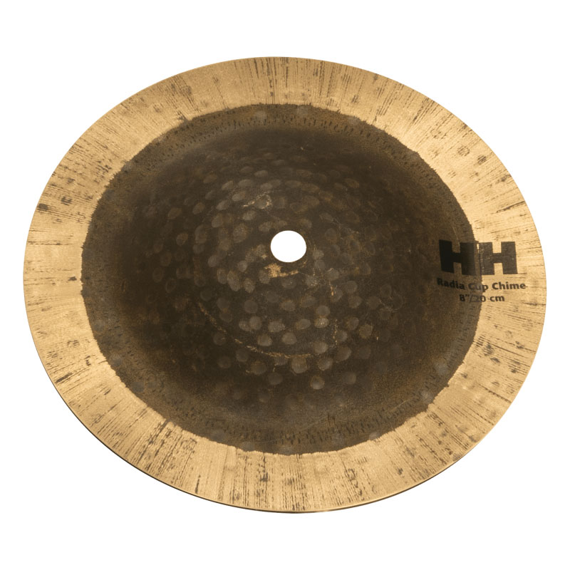 "Sabian 8"" Radia Cup Chime with Natural Finish"