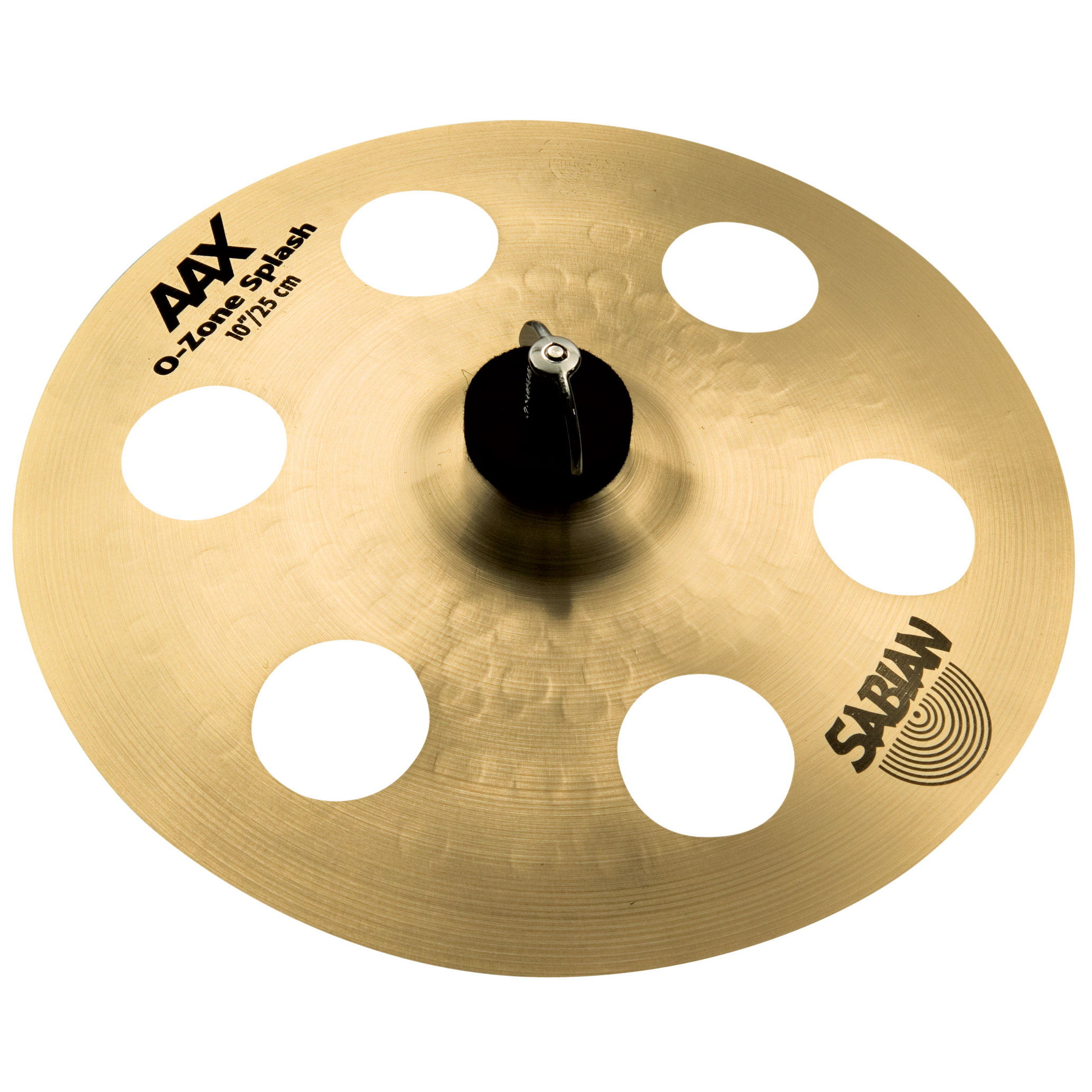 "Sabian 10"" AAX O-Zone Splash Cymbal in Natural Finish"