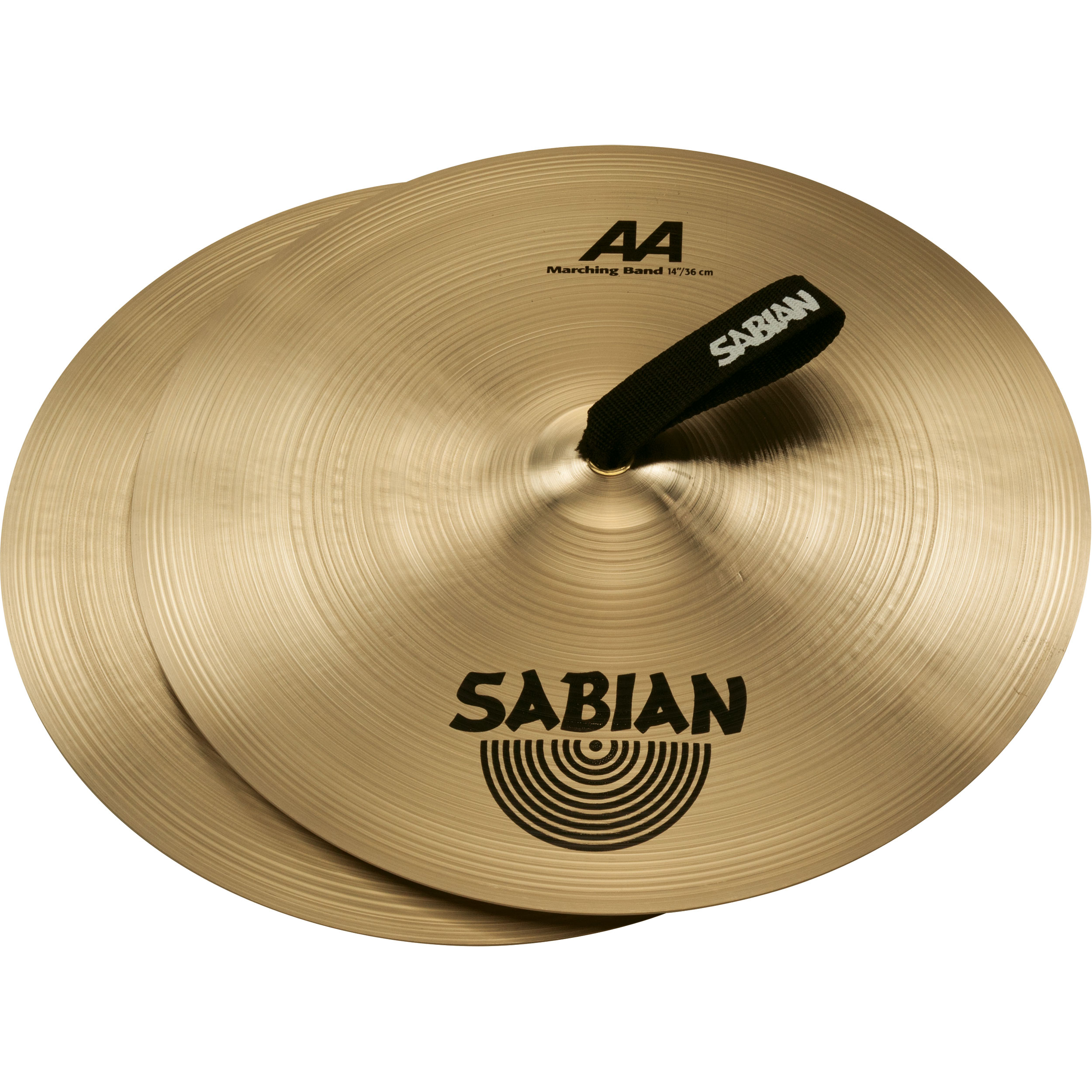 "Sabian 14"" AA Marching Band Hand Cymbal Pair"