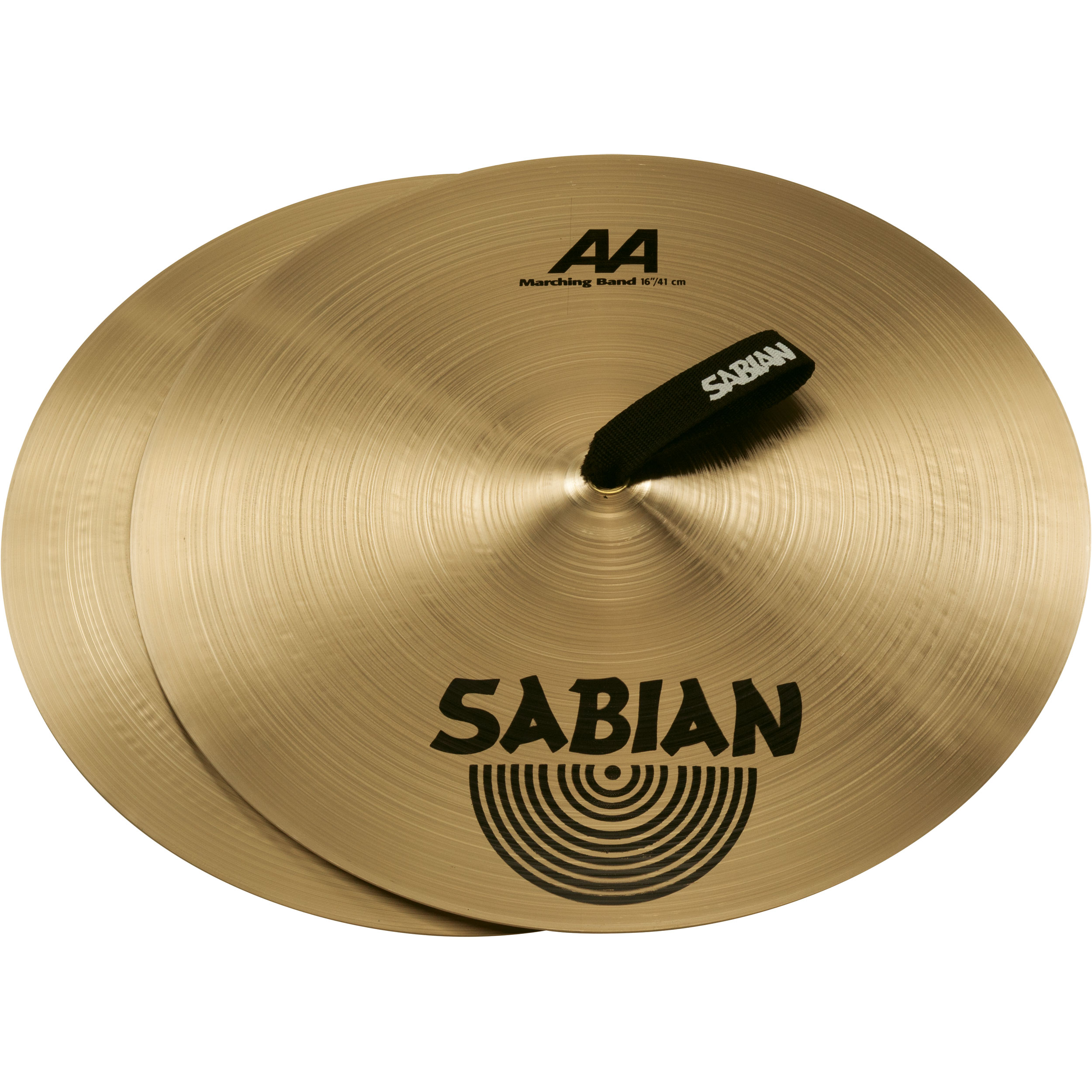 "Sabian 16"" AA Marching Band Hand Cymbal Pair"