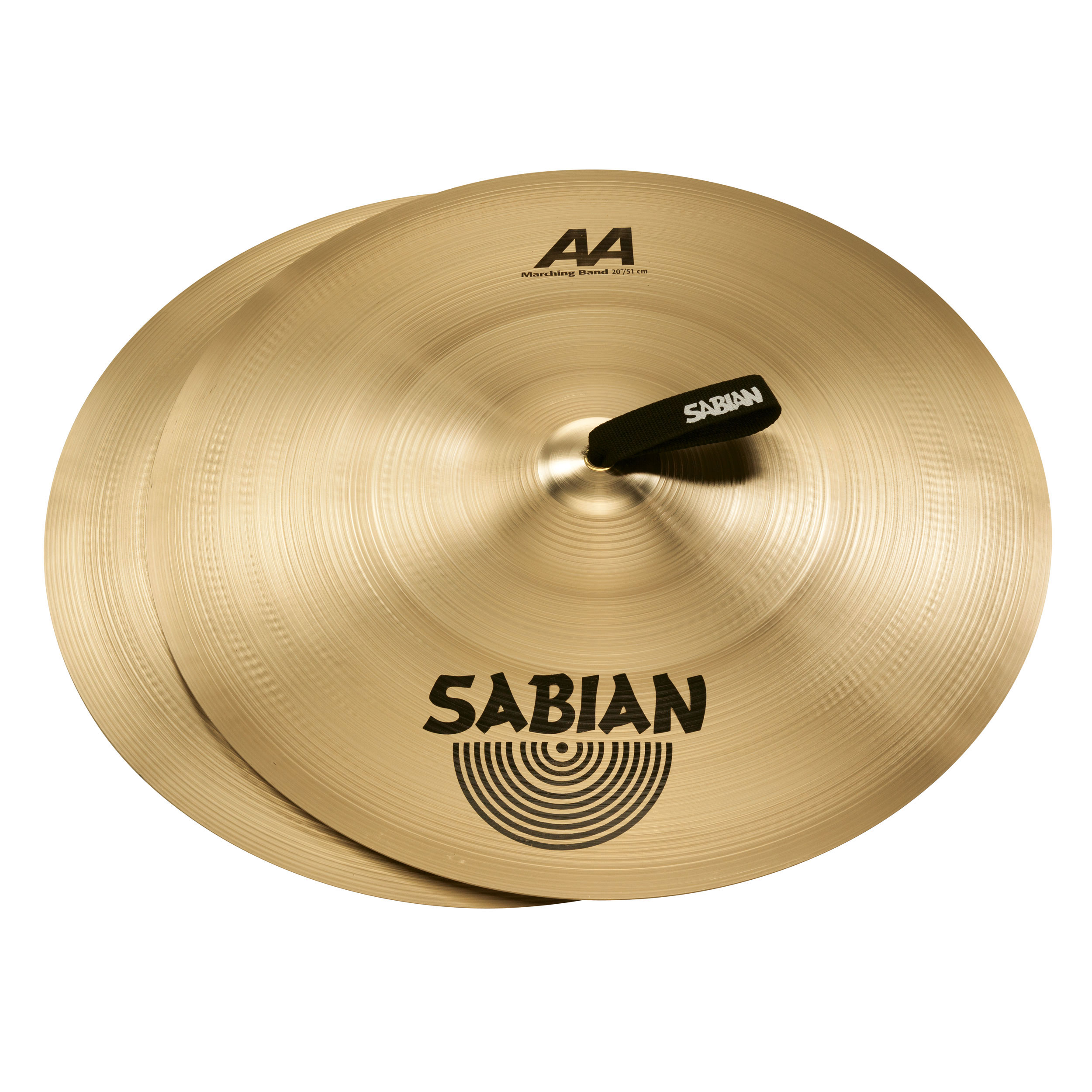 "Sabian 20"" AA Marching Band Hand Cymbal Pair"