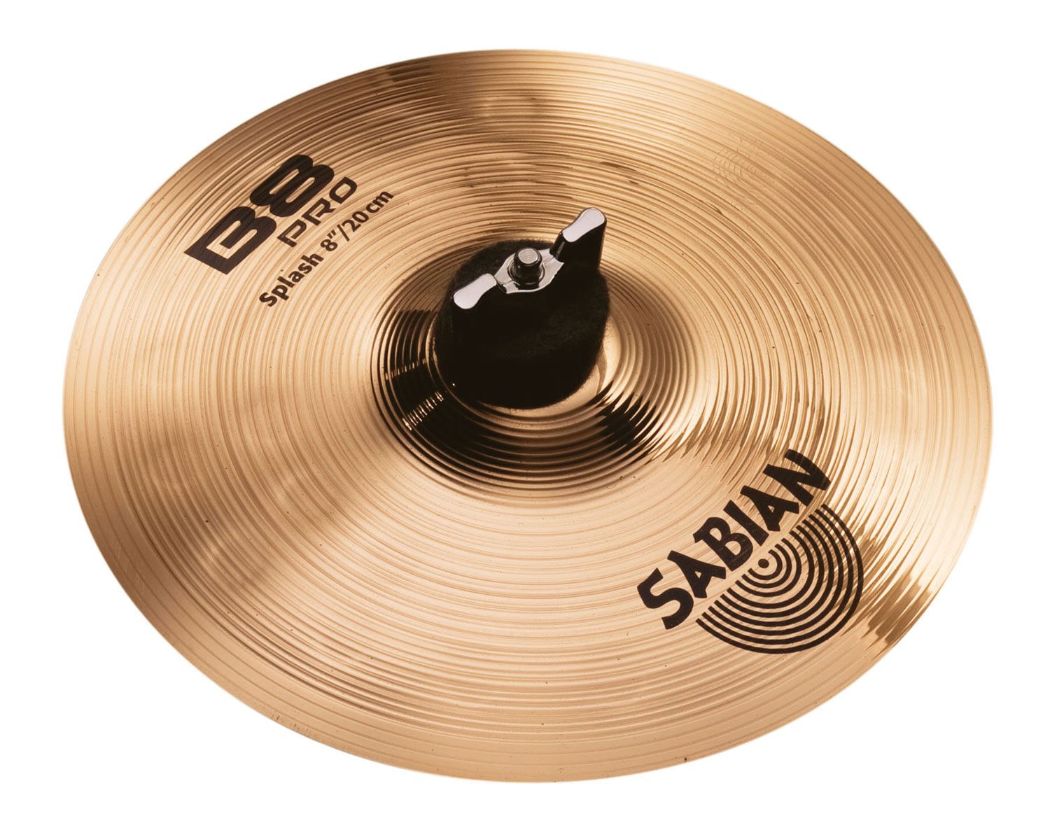 sabian 8 b8 pro splash cymbal with brilliant finish 30805b. Black Bedroom Furniture Sets. Home Design Ideas