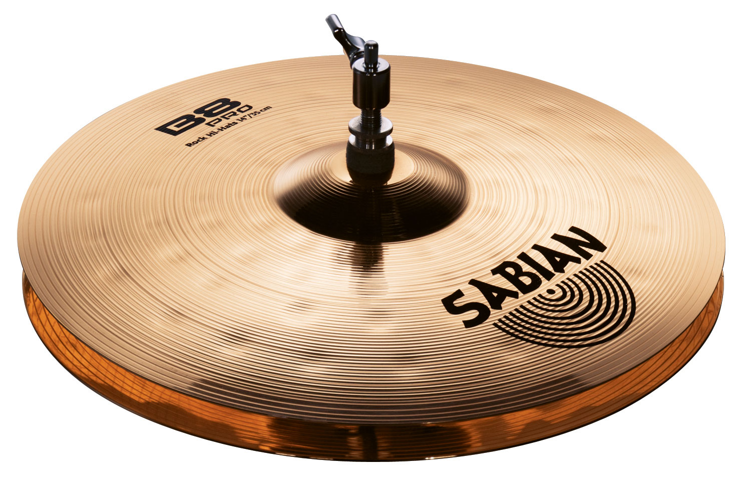 sabian 14 b8 pro rock hi hat cymbals with brilliant finish 31403b. Black Bedroom Furniture Sets. Home Design Ideas