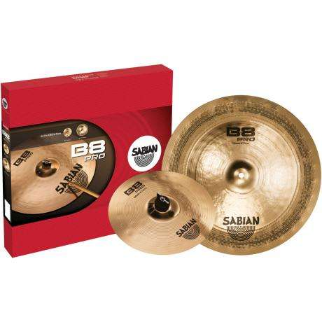 Sabian B8 Pro Effects Pack 2-Piece Cymbal Box Set (Splash, China)