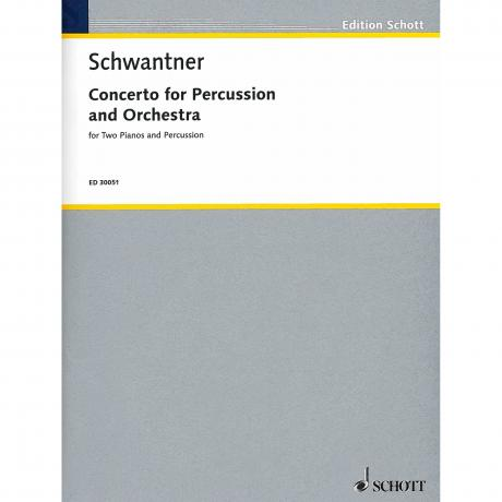 Percussion Concerto No. 1 (Piano Reduction) by Joseph Schwantner