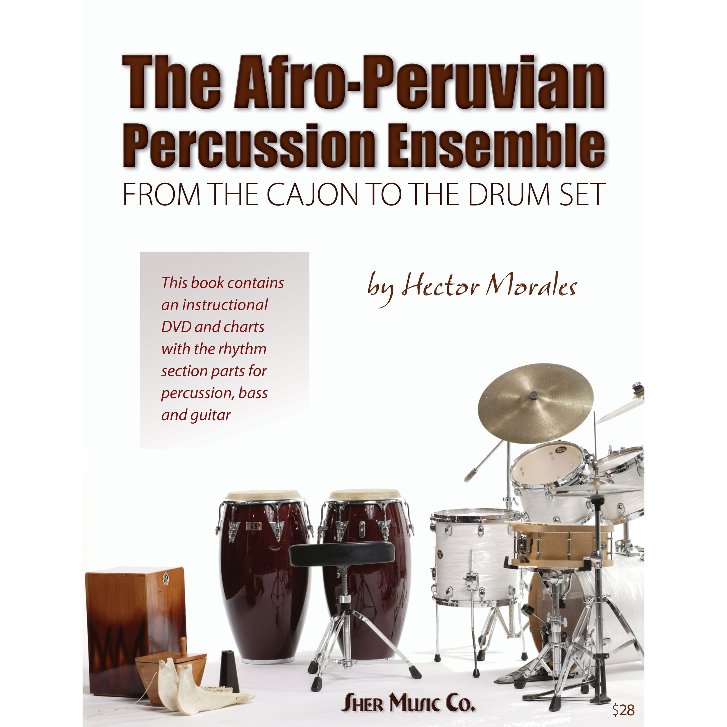 The Afro-Peruvian Percussion Ensemble by Hector Morales