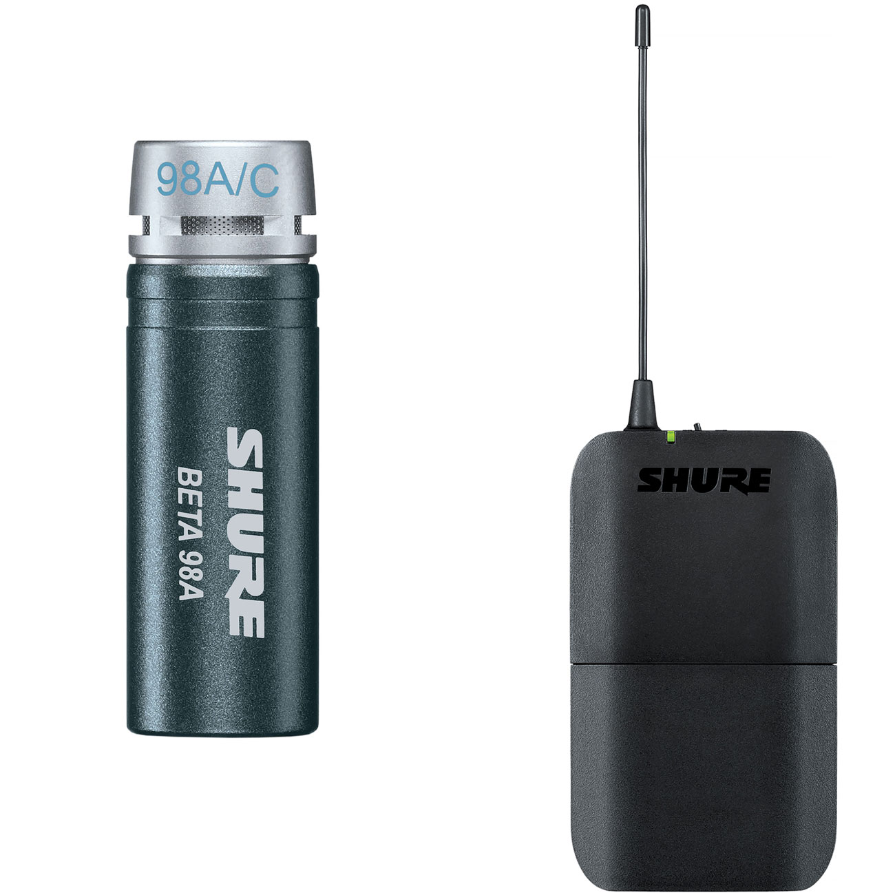 Shure BLX Bodypack Transmitter with BETA98 Clip-On Microphone