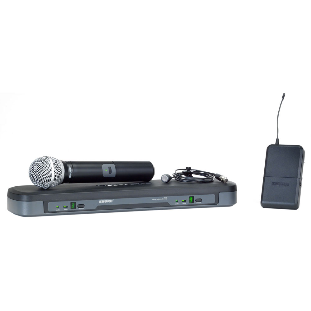 Shure PG 1288/PG185 Vocal/Lavalier Combo Wireless Microphone System