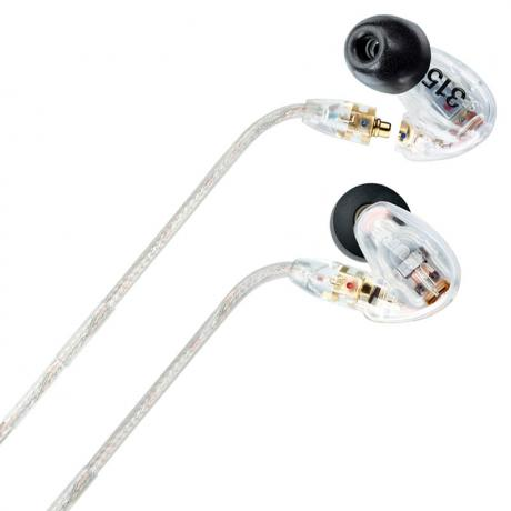 Shure SE315 Sound Isolating Earphones with High-Definition MicroDriver (Clear)