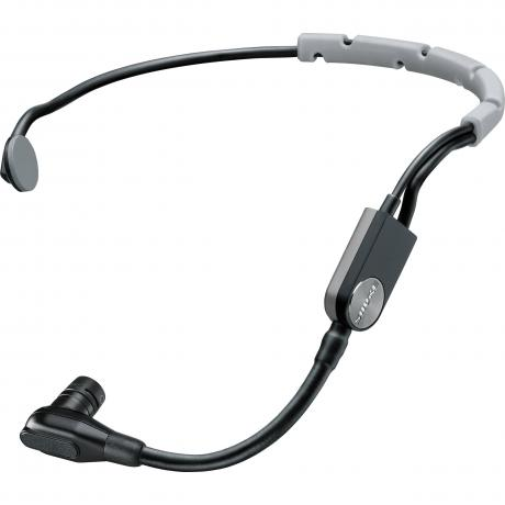 Shure Headset Cardioid Condenser Microphone with In-Line XLR Preamp Connector and Snap-Fit Windscreen