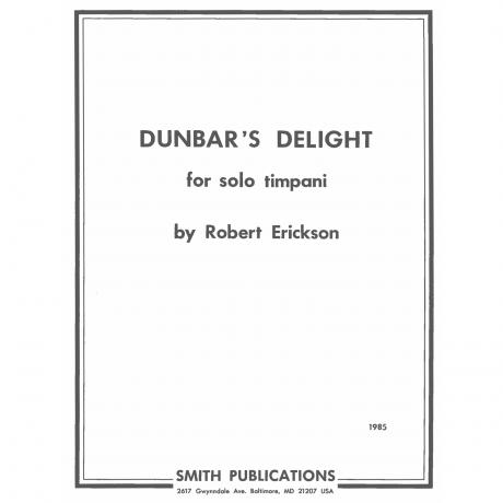 Dunbar's Delight by Robert Erickson