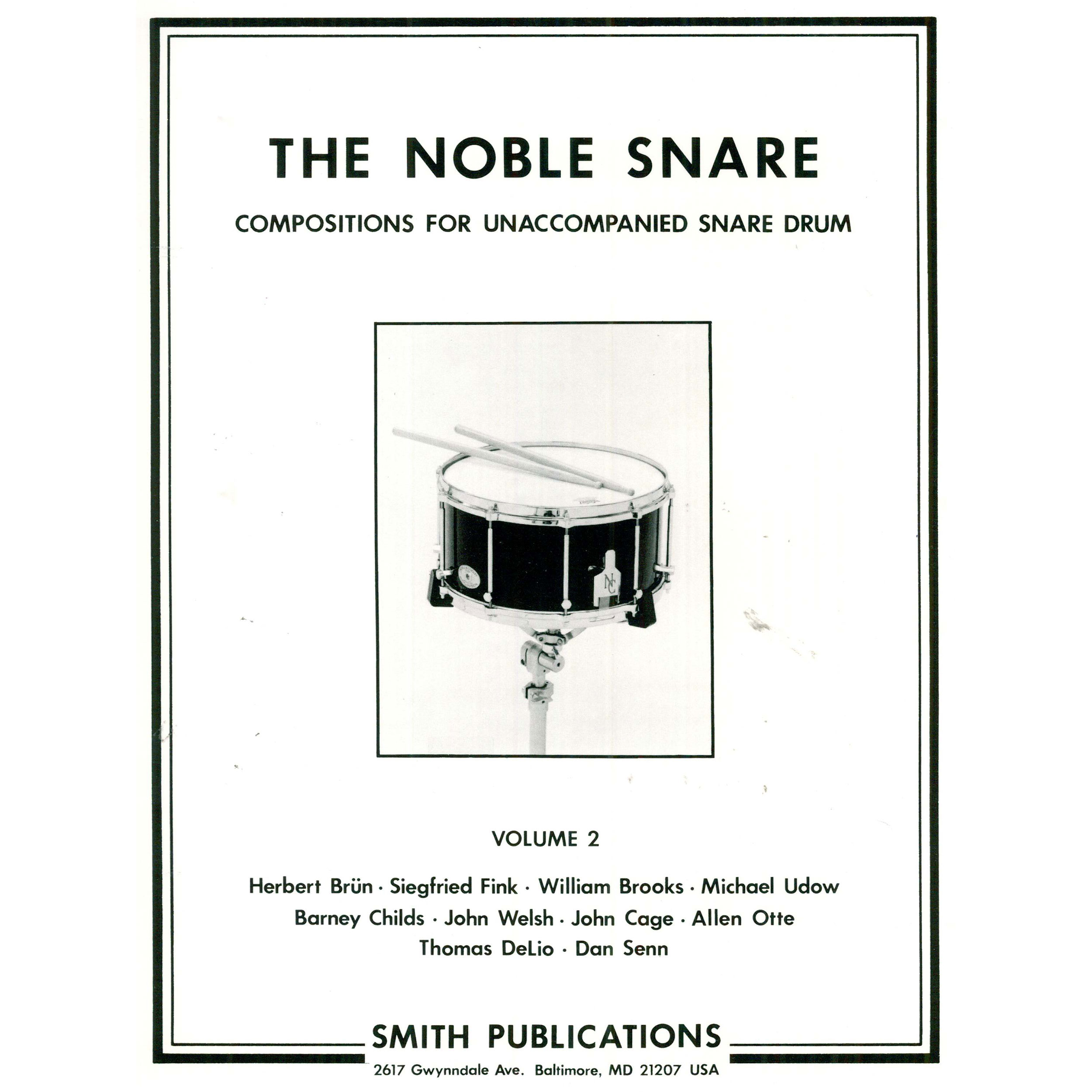 The Noble Snare: Solos for Snare Drum (Vol. 2) by Various