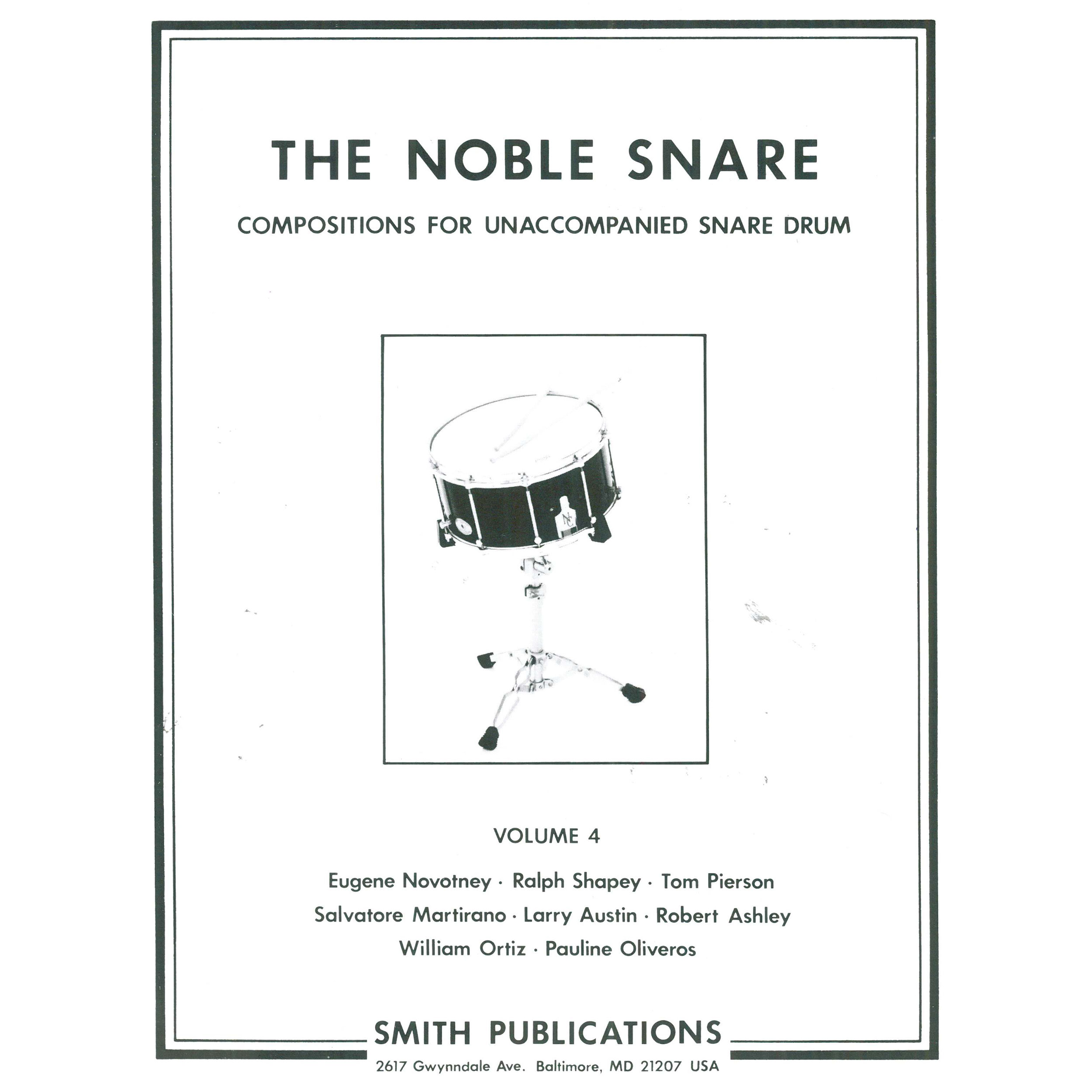 The Noble Snare Solos For Drum Vol 4 By Various Diagram Alternate Image