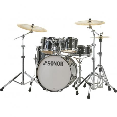 sonor aq2 studio 5 piece drum set shell pack 20 bass 10 12 14 toms 14 snare aq2 studio sp. Black Bedroom Furniture Sets. Home Design Ideas