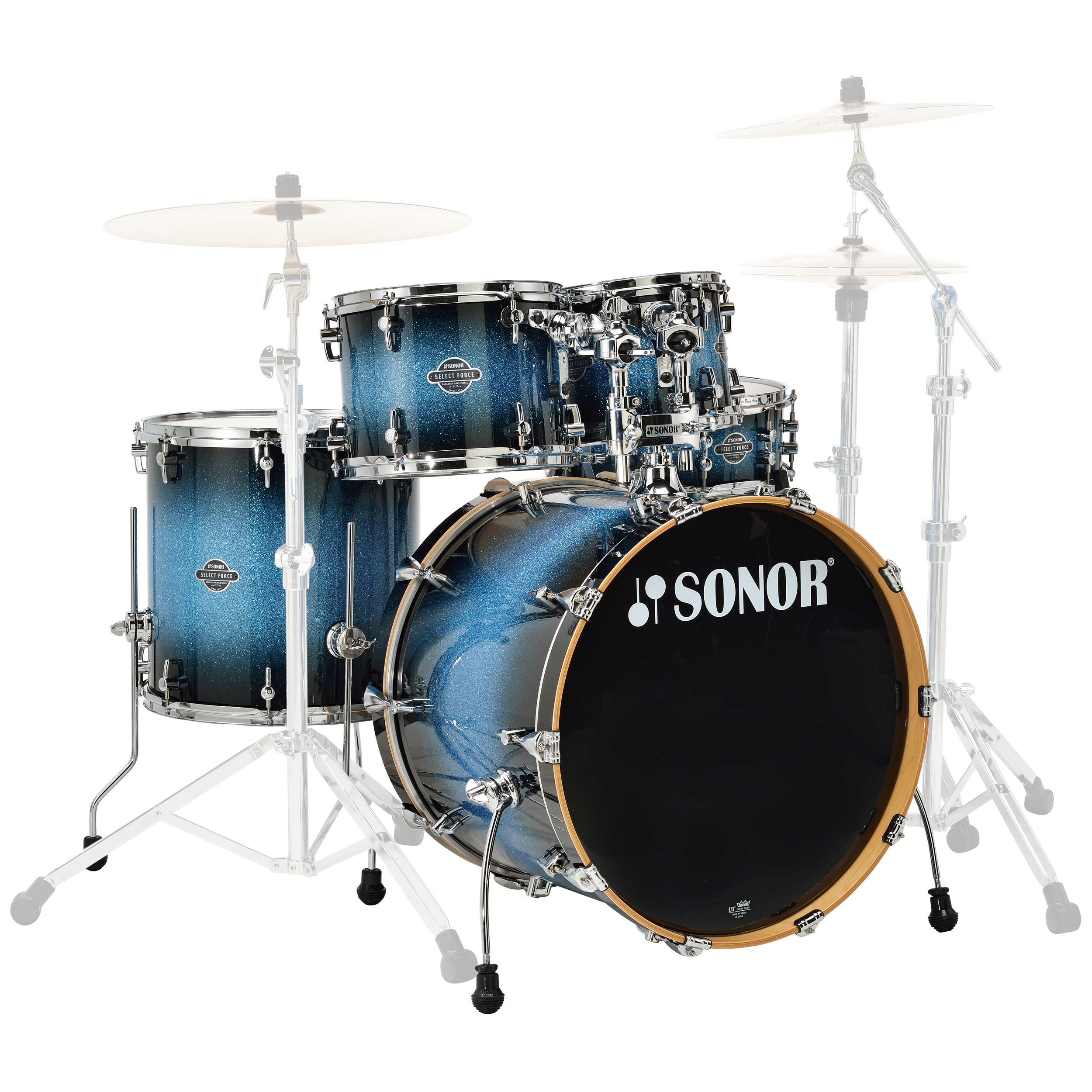 "Sonor Select Force Studio 5-Piece Drum Set Shell Pack (20"" Bass, 10/12/14"" Toms, 14"" Snare)"