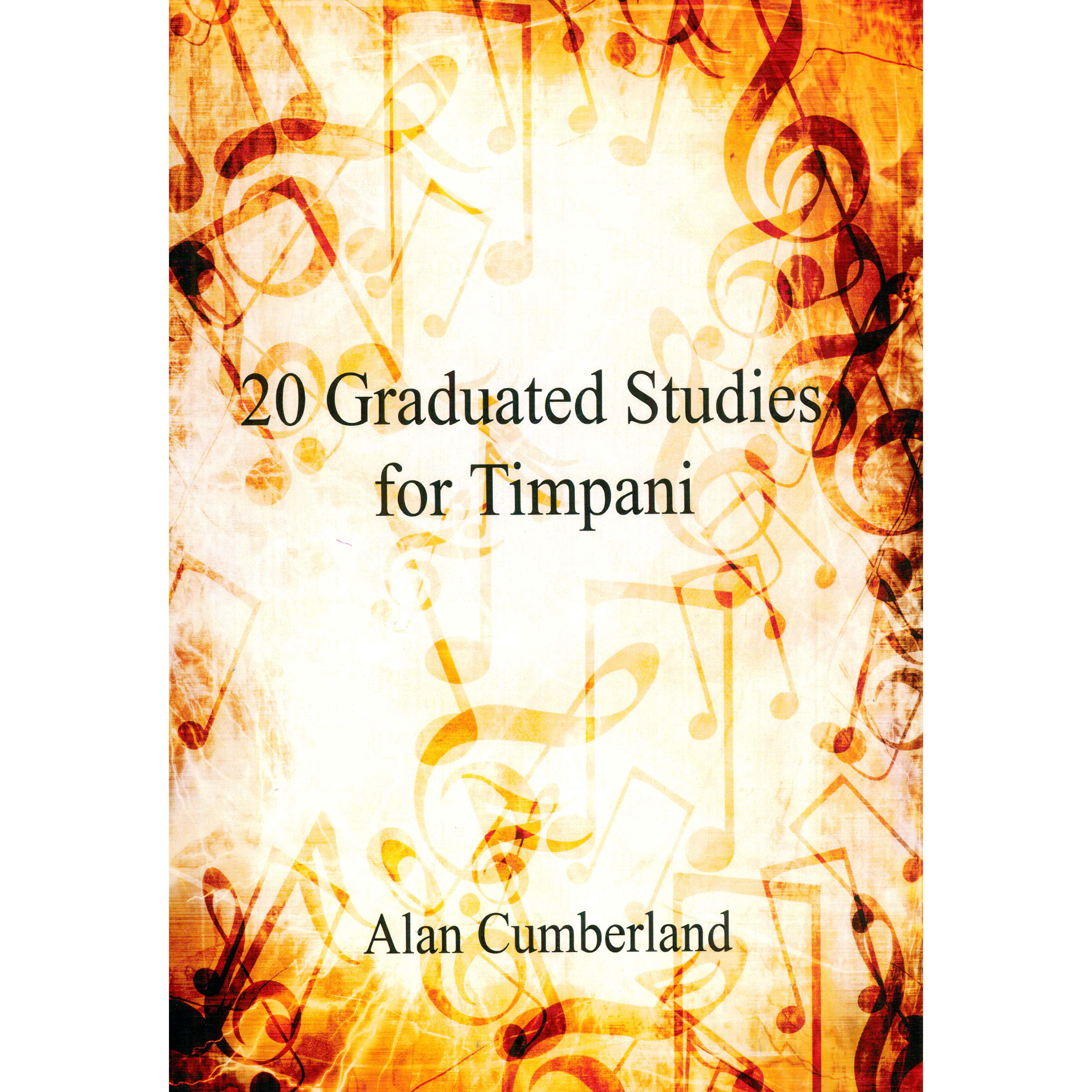 20 Graduated Studies for Timpani by Alan Cumberland