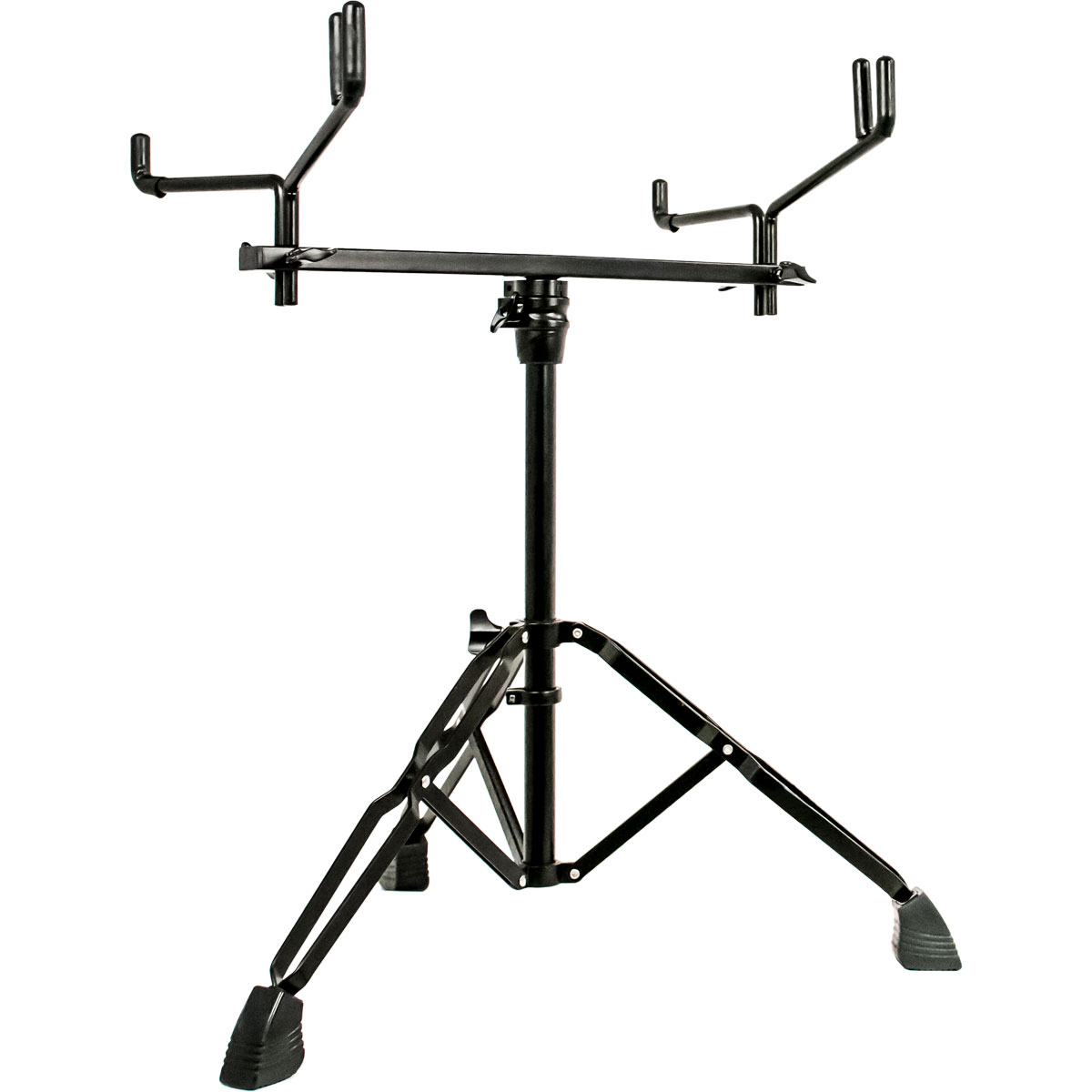 System Blue Black Marching Tenor Stand