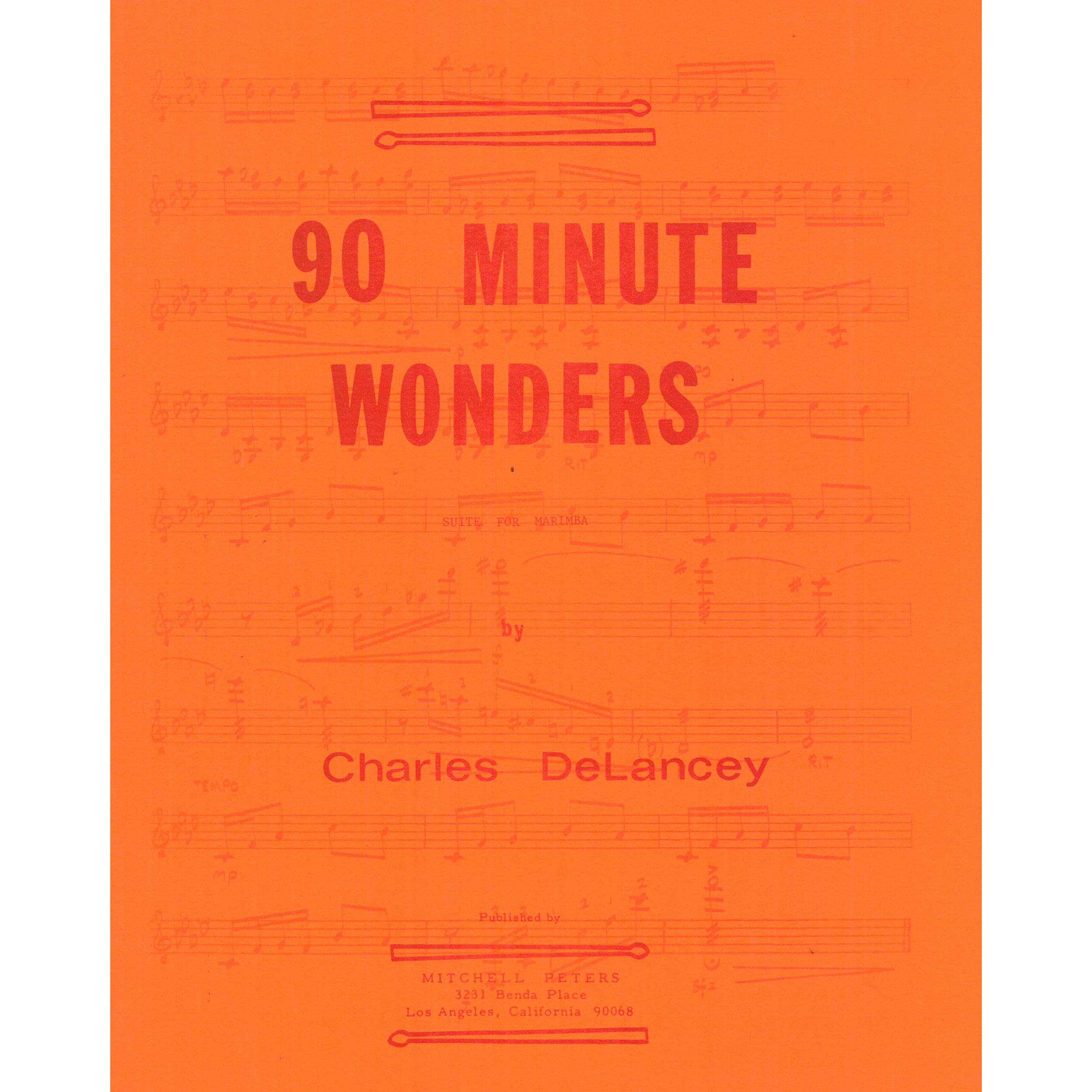90 Minute Wonders by Charles DeLancey