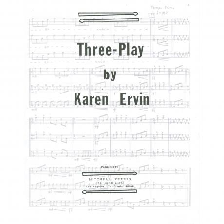 Three Play by Karen Ervin
