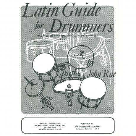 Latin Guide For Drummers by John Rae