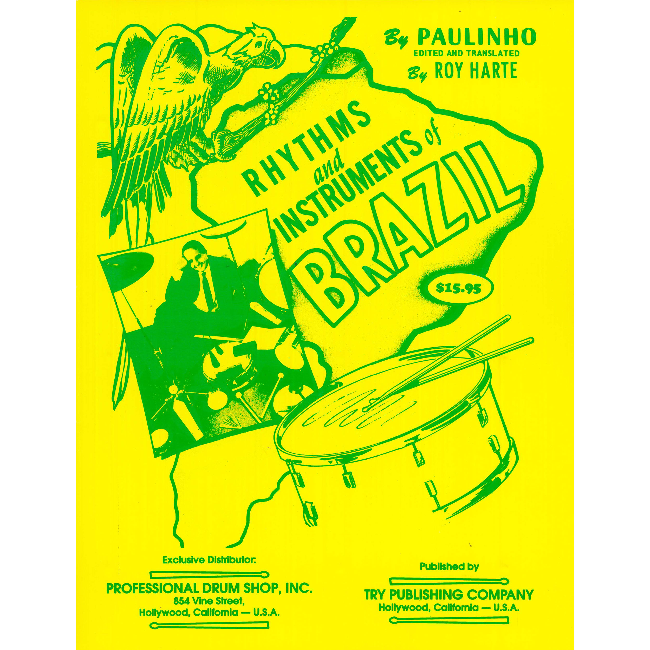 Rhythms and Instruments of Brazil by Paulinho