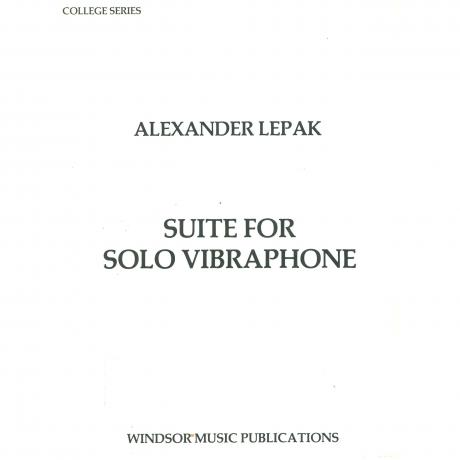 Suite for Solo Vibraphone by Alexander Lepak