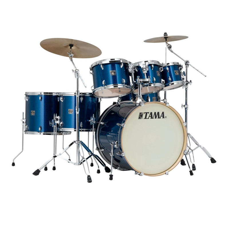 tama superstar classic 7 pc drum set with hardware 22 bass 8 10 12 14 16 toms 14 snare wrap. Black Bedroom Furniture Sets. Home Design Ideas