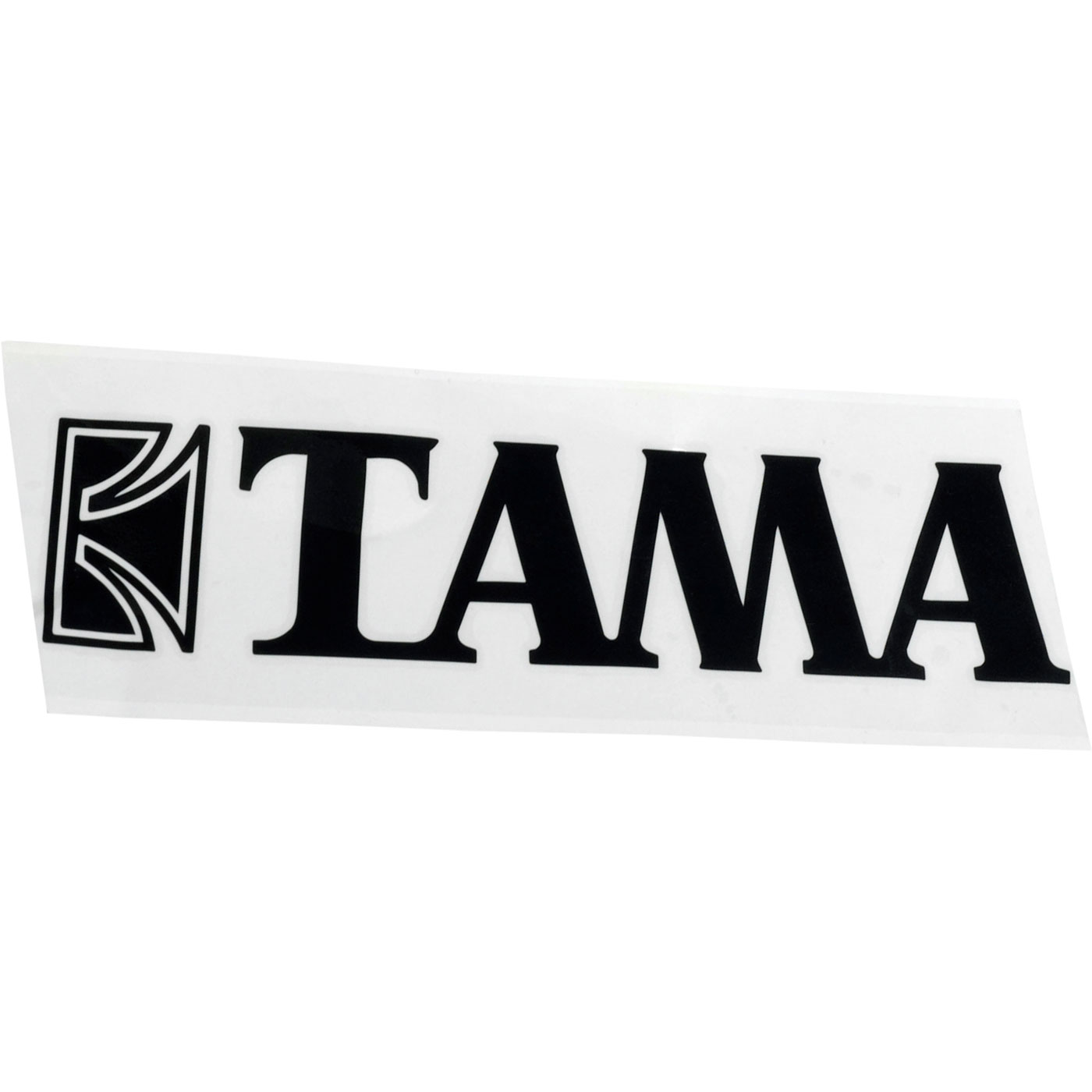 "Tama Black Logo Decal for 14"" - 22"" Bass Drums"