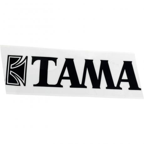 Tama Black Logo Decal for 14