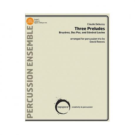 Three Preludes by Claude Debussy arr. David Reeves