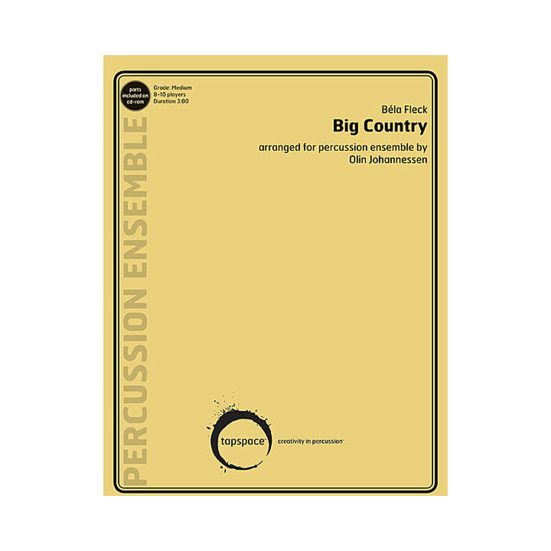 Big Country by Bela Fleck arr. Olin Johannessen