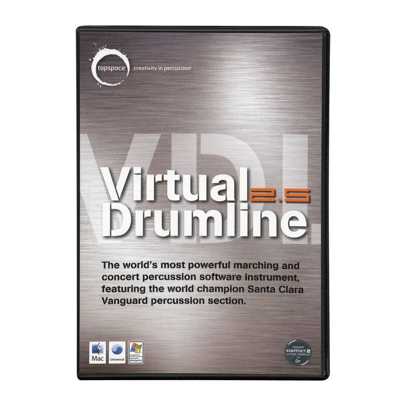 Tapspace Virtual Drumline 2.5 Sampling Software