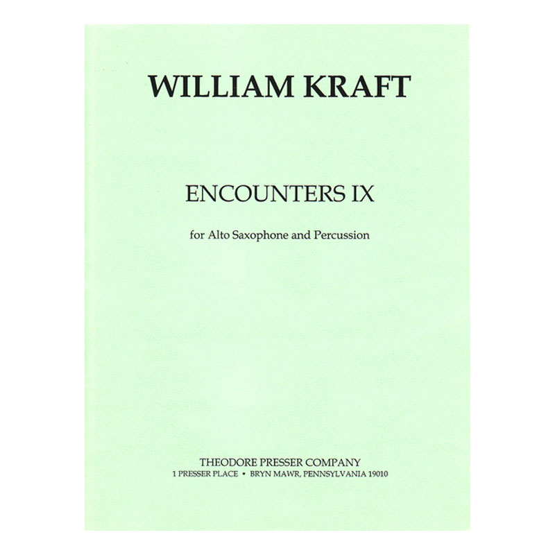 Encounters IX by William Kraft